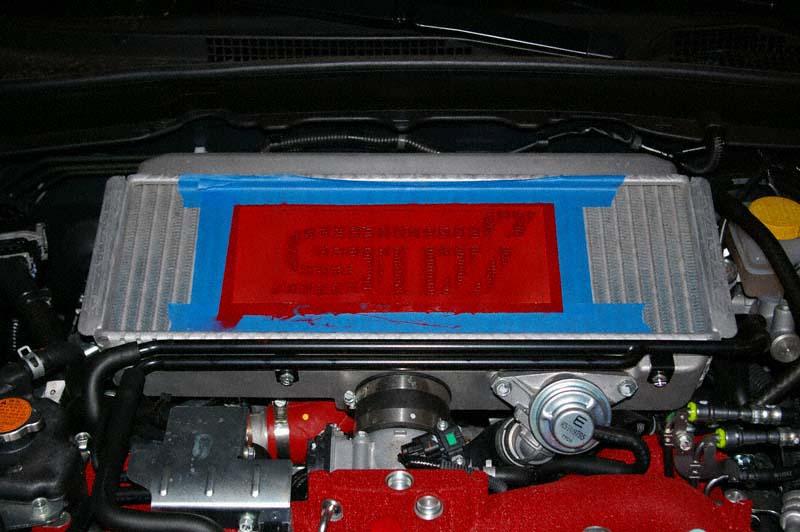 Used Subaru Wrx Sti >> 2008 Subaru WRX STi - DIY Intercooler Logo